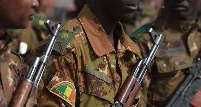 Malische Soldaten in Gao