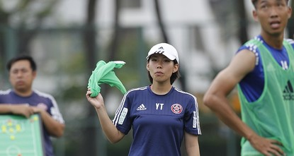 pAfter the 7-0 rout mercifully ended, Luiz Felipe Scolari walked over and shook hands with counterpart Chan Yuen-ting, then gave her a warm, fatherly pat on the head./p  pIt was a tough night for...