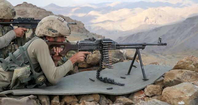 1 soldier killed, 3 wounded in anti-PKK op in SE Turkey