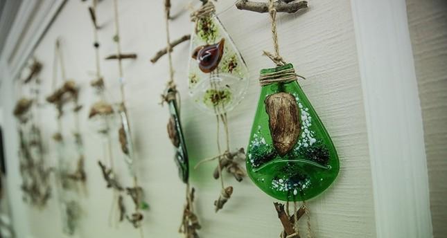 افتتاح معرض للأعمال الفنية باستخدام النفايات في أنقرة