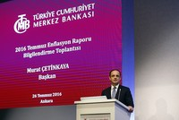 Turkey's Central bank keeps 2016 inflation goal unchanged