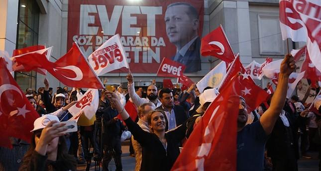 الشعب التركي يصوت بـنعم على الانتقال للنظام للرئاسي