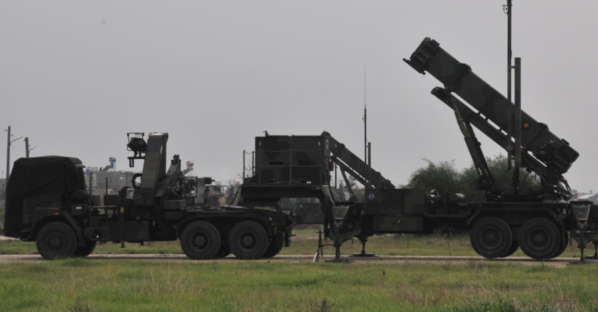 A Patriot system installed in Turkey's Adana in 2015 (AA File Photo)