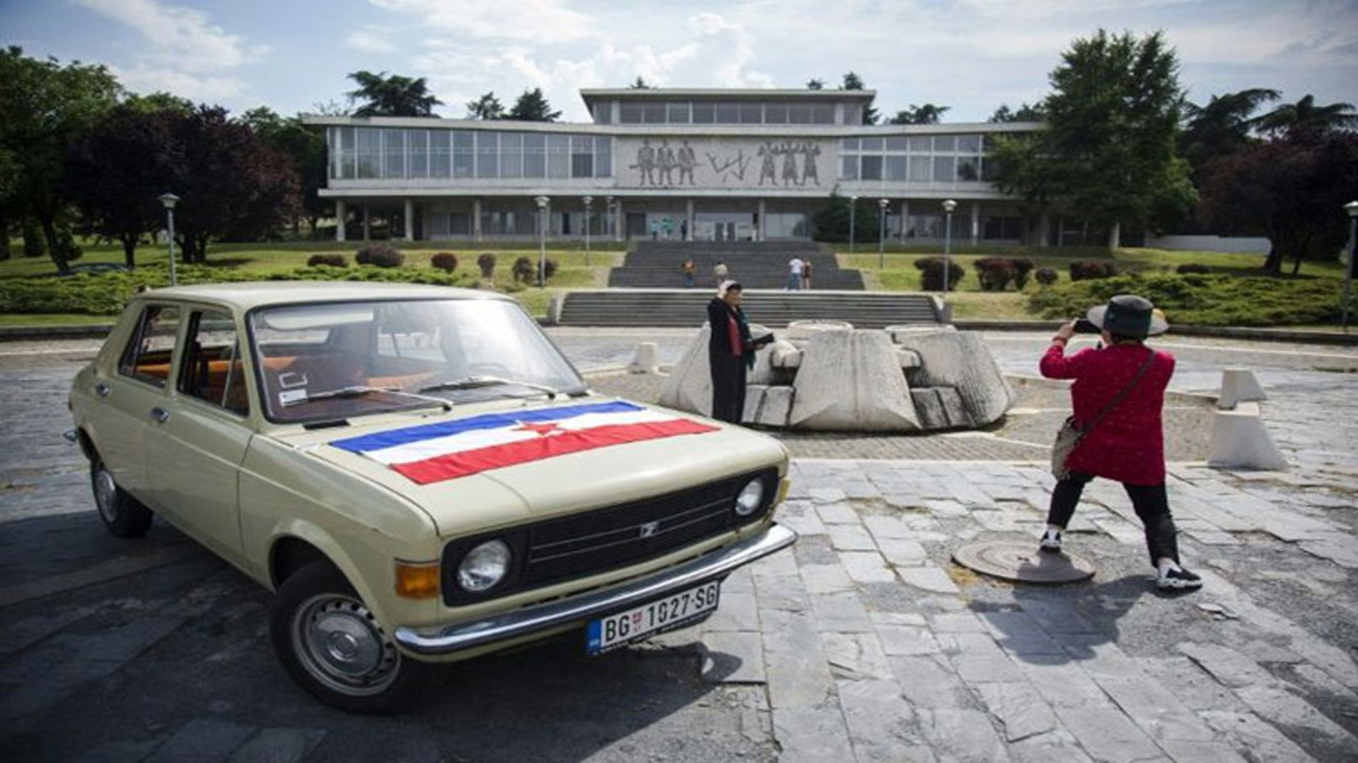 The last Yugo cars were produced a decade ago, but they are still a hit among tourists.