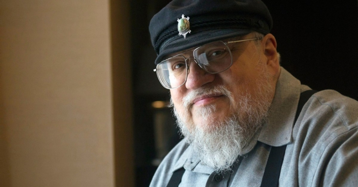 In this March 12, 2012 file photo, George R.R. Martin, author of the popular book series ,A Song of Ice and Fire,, poses in Toronto. (AP Photo)