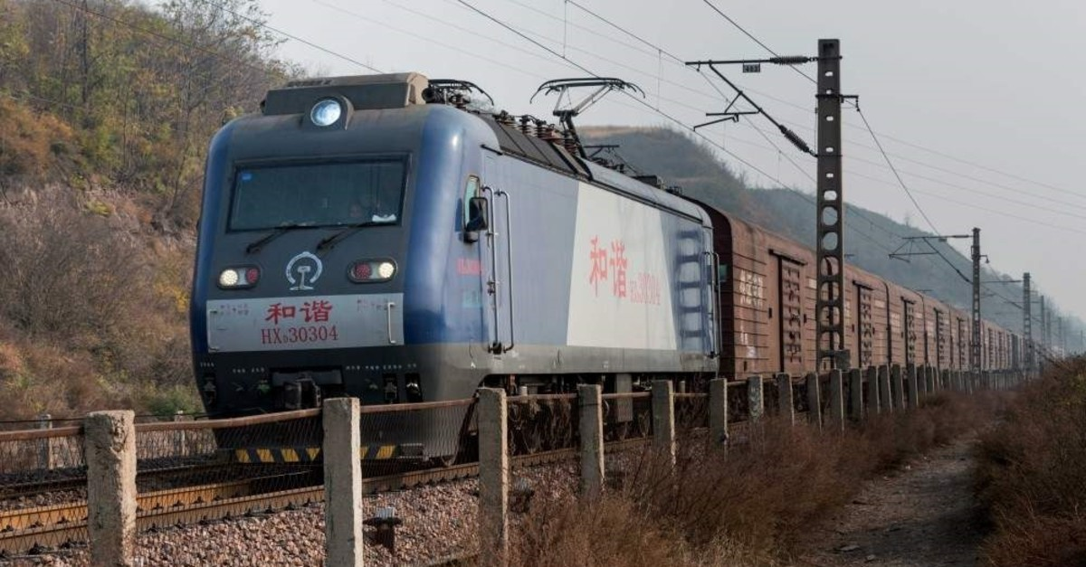 The China Railway Express, which has entered Turkey in Kars, will reach Europe by passing through the Marmaray tunnel in Istanbul beneath the Bosporus strait on Nov. 6.