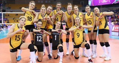 Turkey's Vakıfbank bags bronze in Women's Volleyball World Championship
