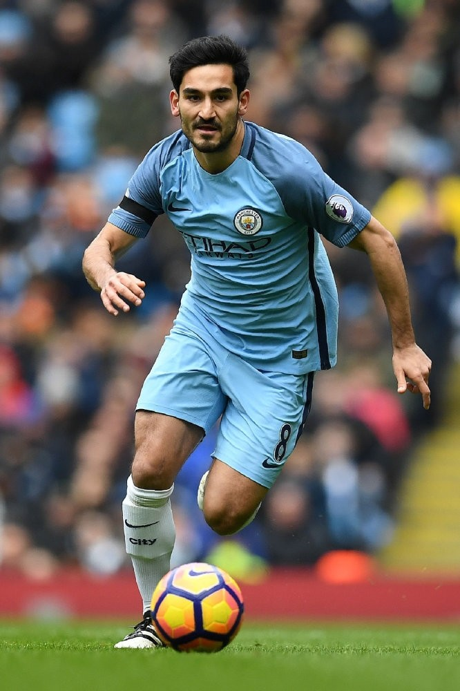 Manchester City's Turkish star u0130lkay Gu00fcndou011fan came on in the 73rd minute as the Citizens defeated Shakhtar Donetsk on Wednesday.