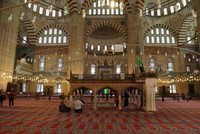 It is rumored that Prophet Muhammad appeared in a dream to Ottoman Sultan Selim II and pointed to Edirne to build the Selimiye Mosque; thus, Selim ordered the structure to be built in Kavak...