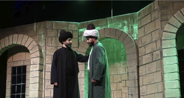 A play about Mevlana from the eyes of Shams