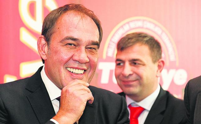 Turkish Football Federation chairman Yıldırım Demirören
