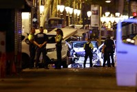 A driver deliberately plowed a van into pedestrians on one of Spain's busiest streets, Las Ramblas, on Thursday, killing 13 people and wounding more than 80 in what police called a