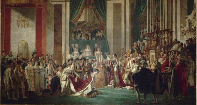 Jacques-Louis David's The Coronation of Napoleon.
