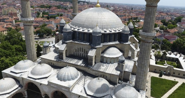 Selimiye Mosque being digitized in 3-D