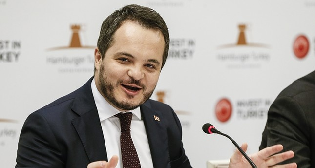 President of Investment Support and Promotion Agency of Turkey (ISPAT) Arda Elmut (AA Photo)