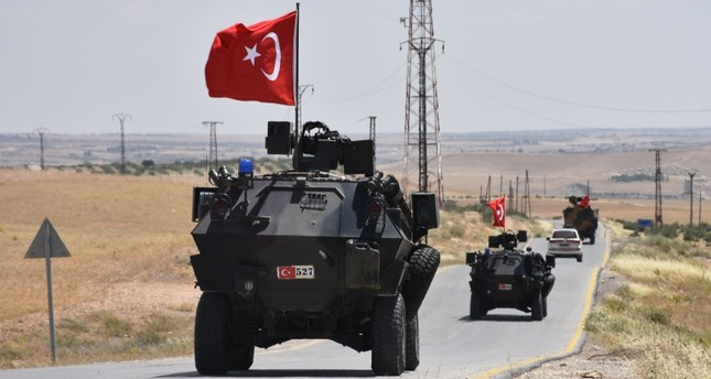 القوات التركية تسيّر دورية جديدة في مدينة منبج السورية