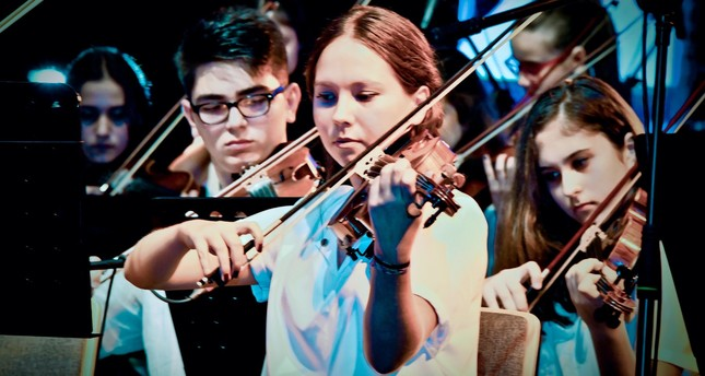 The Beylikdüzü Youth Symphony Orchestra will perform their concert on July 19.