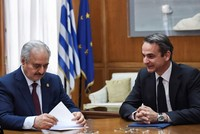 Haftar seeks support in Greece ahead of Berlin conference
