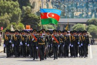Azerbaijan marks 100 years of armed forces with parade in Baku