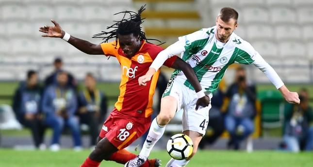 Galatasaray won 2-0 against Atiker Konyaspor on Saturday in an away match.