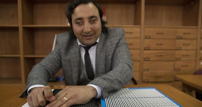 Blind Turkish Man Designs Specialized Tool To Help The