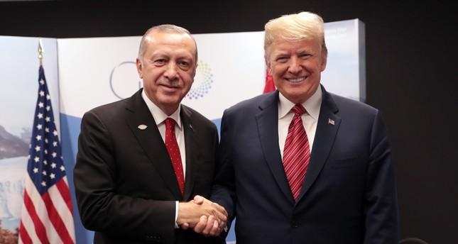 Erdoğan, Trump discuss Turkey's proposal on S-400 working group, bilateral relations