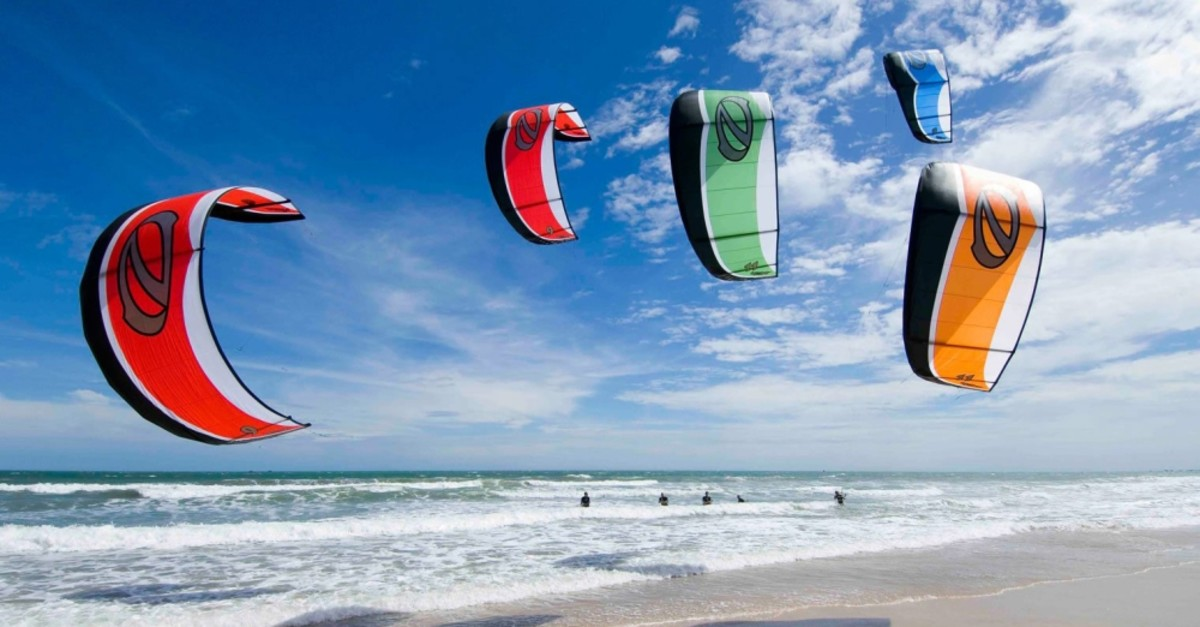 The action sport kitesurfing is an exciting alternative to try during the summer months.