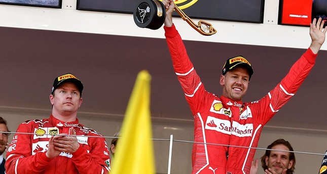 Ferrari's Vettel beats teammate Raikkonen to snag the Monaco Grand Prix title