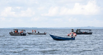 30 dead after Uganda party boat sinks on Lake Victoria