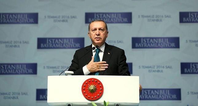 أردوغان: تنظيم داعش خنجر مغروس في صدور المسلمين