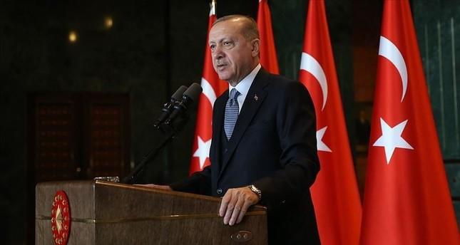 أردوغان: نواجه قوى لها حسابات في شرق البحر المتوسط