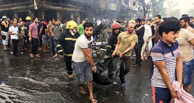 مقتل 11 عراقياً في انفجار سيارة ملغومة بسوق شمال بغداد
