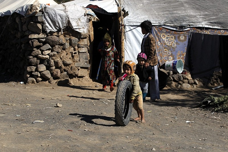 Hope is the laughter of children living under harsh circumstances