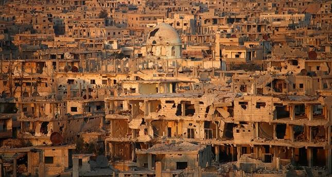 الدمار في مدينة درعا- جنوب الفرنسية