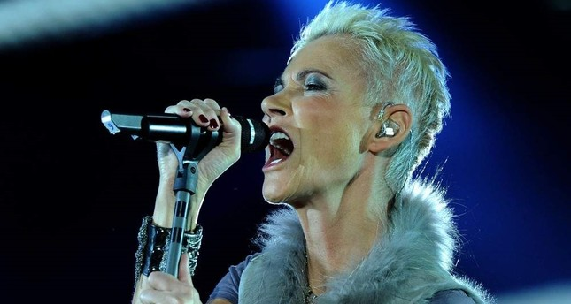 Photo taken on March 19, 2011, shows Swedish singer Marie Fredriksson of the pop group Roxette performing in Cologne, Germany. AFP Photo