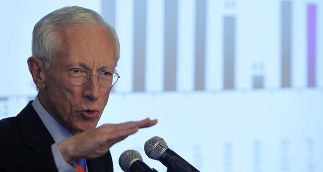 U.S. Federal Reserve's number two official, Stanley Fischer. (FILE Photo)