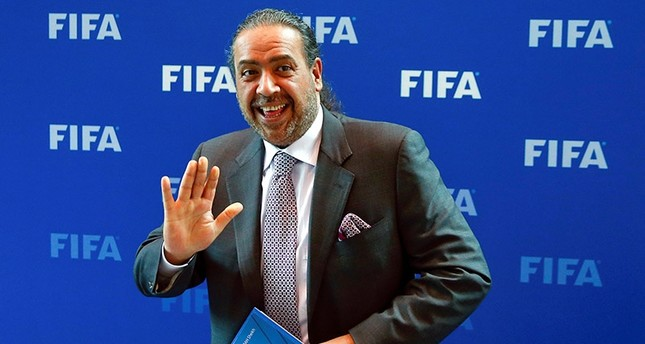 Kuwait's member of the FIFA executive committee Sheikh Ahmad al-Fahad al-Sabah poses for photographers after a meeting of the FIFA Council at the FIFA headquarters in Zurich, Switzerland October 14, 2016. (Reuters Photo)