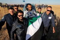 Astronauts return to Earth after space mission