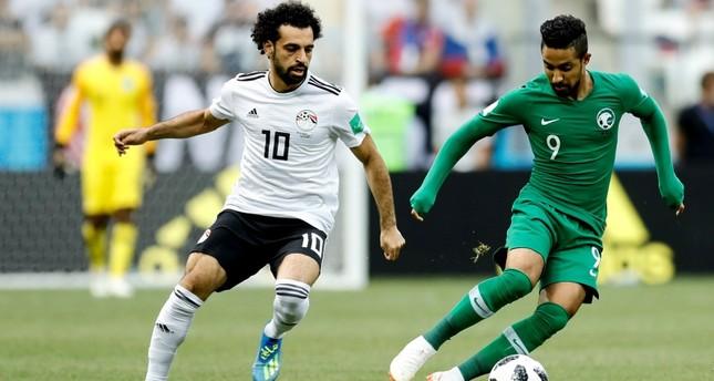 السعودية تحرز أول فوز لها في المونديال على حساب مصر