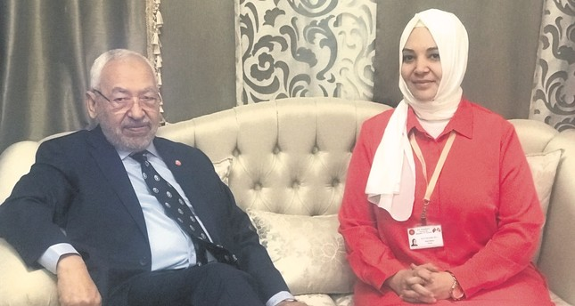 Ghannouchi L and Daily Sabah's Hilal Kaplan
