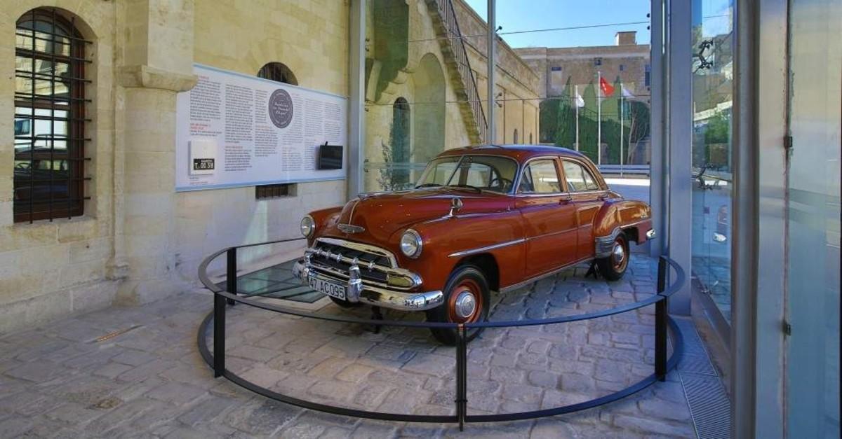The 1952 Chevrolet is located at the entrance of the Sak?p Sabanc? Mardin City Museum (Courtesy of Sak?p Sabanc? Museum)
