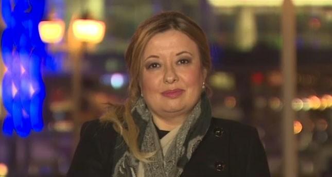 Presidential Senior Advisor Gülnur Aybet during the interview