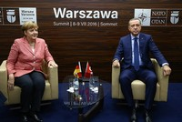Erdoğan, Merkel hold first meeting since German parliament's disputed bill on 1915 events