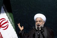 Iran celebrates 1979 Revolution's anniversary amid tensions