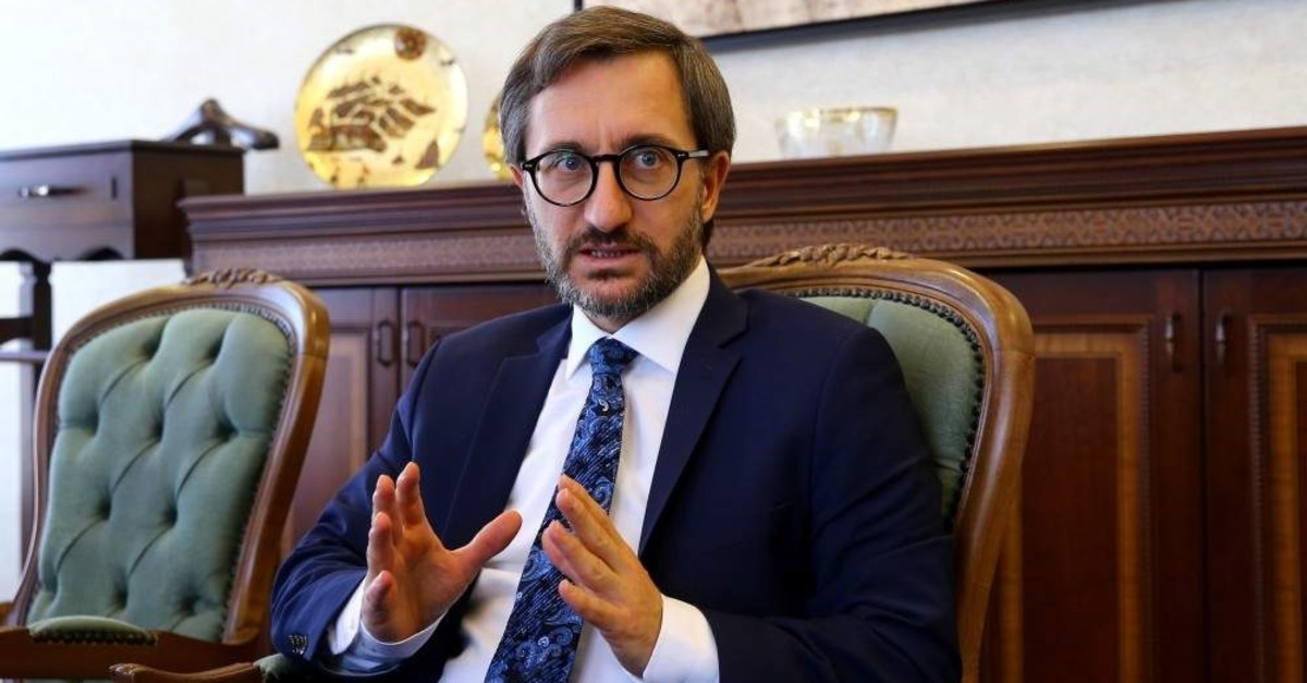 Presidential Communications Director Fahrettin Altun said the ideas to be put into action will be announced in 2020. (AA Photo)