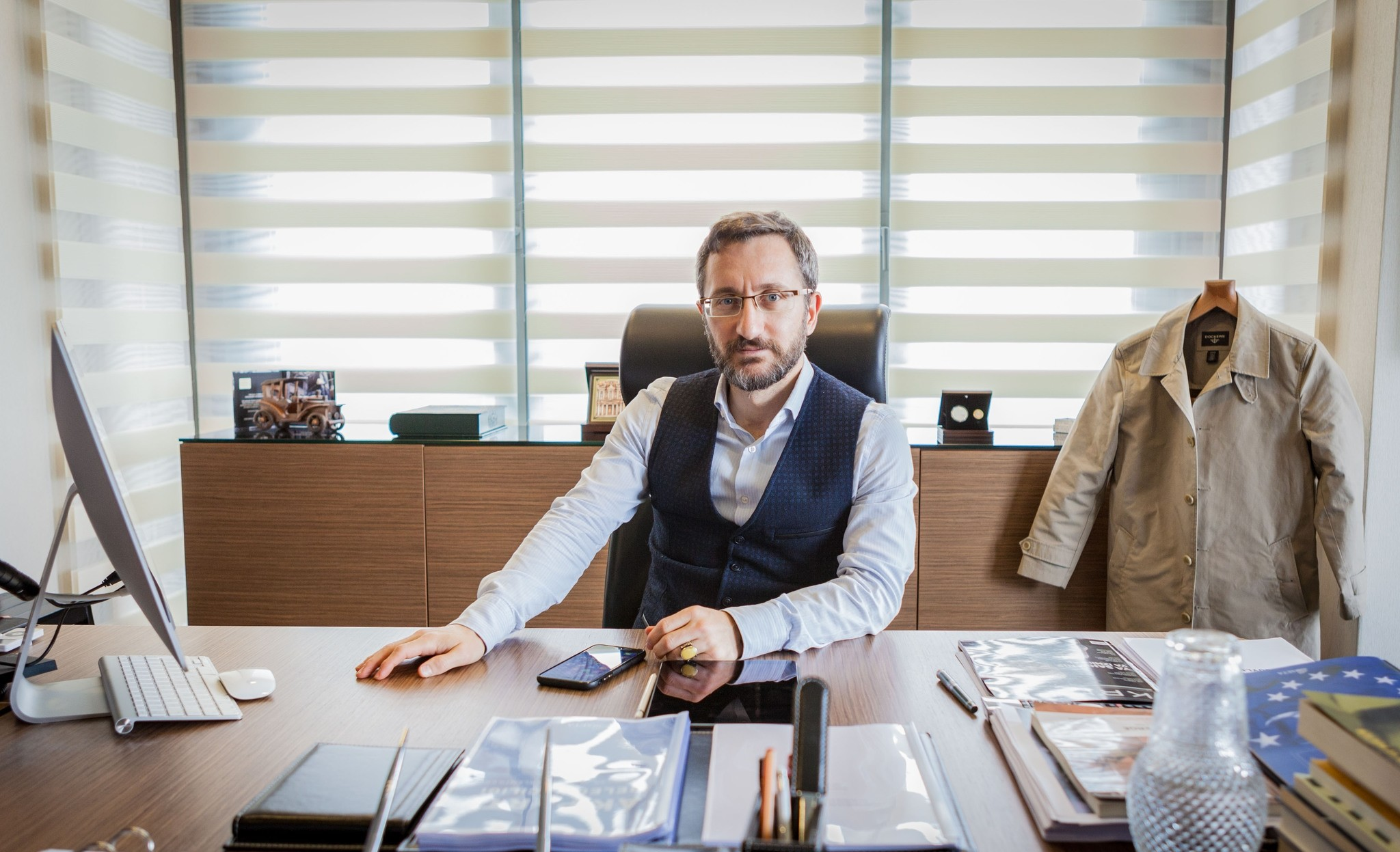 Fahrettin Altun says that Erdou011fanu2019s manifesto expresses his partyu2019s reaction to global change and the partyu2019s perspective toward foreign policy, domestic policy, economy, culture, society, state and public.