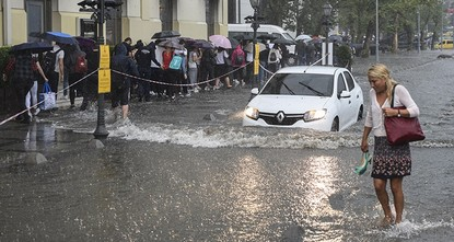 pWhat started as a midnight shower turned into a heavy rainfall by Tuesday morning in Istanbul, triggering flash floods across the country's most populated city. Rainfall disrupted daily life,...