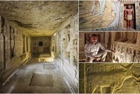 Egyptian archeologists uncover 4,400-year-old tomb from Pharaonic era