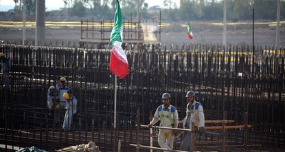 Iran begins construction of 2nd nuclear power plant