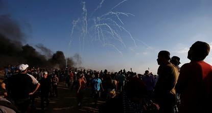 Israeli forces kill two Palestinians on Gaza border